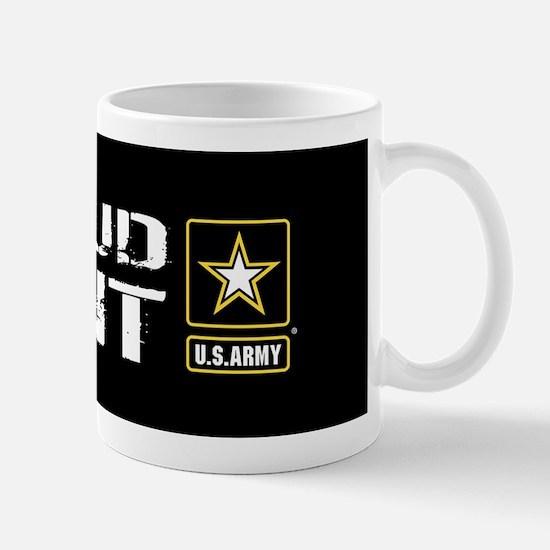 U.S. Army: Proud Aunt (Black) Mug