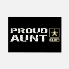 U.S. Army: Proud Aunt ( Rectangle Magnet (10 pack)