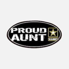 U.S. Army: Proud Aunt (Black) Patch