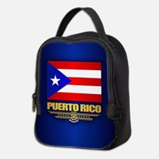 Puerto Rico Neoprene Lunch Bag