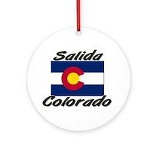 Salida Colorado Ornament (Round)