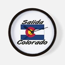 Salida Colorado Wall Clock