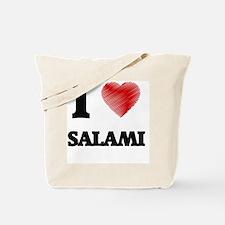 I Love Salami Tote Bag