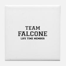 Team FALCONE, life time member Tile Coaster