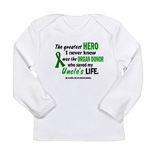 Hero I Never Knew 1 (Uncle) Long Sleeve T-Shirt