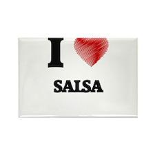 I Love Salsa Magnets