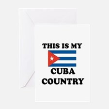This Is My Cuba Country Greeting Card