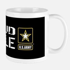 U.S. Army: Proud Uncle (Black) Mug