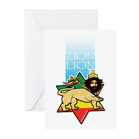 Zion Lion Greeting Cards (Pk of 20)