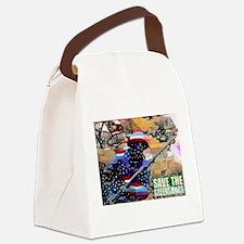 Cute Midtown Canvas Lunch Bag