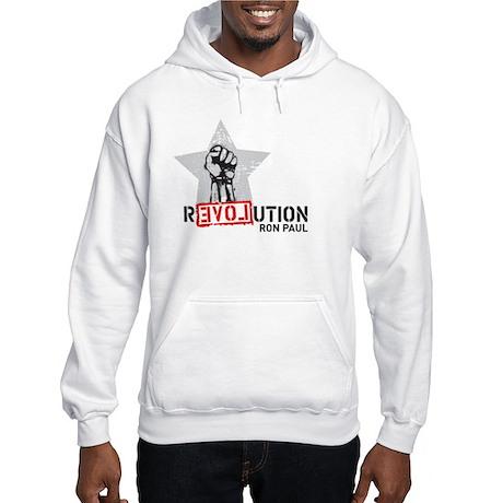 Ron Paul Revolution Fist Hooded Sweatshirt