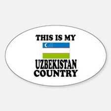 This Is My Uzbekistan Country Decal