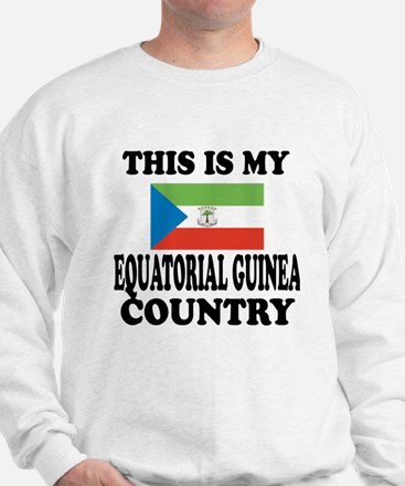 This Is My Equatorial Guinea Country Sweatshirt