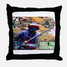 Overton Park SAVE THE GREENSWARD Throw Pillow