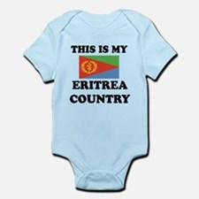 This Is My Eritrea Country Infant Bodysuit