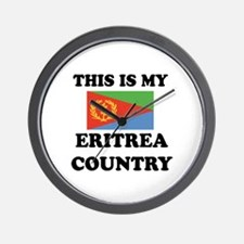 This Is My Eritrea Country Wall Clock