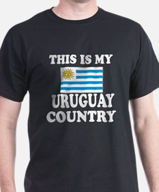 This Is My Uruguay Country T-Shirt