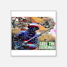 Overton Park SAVE THE GREENSWARD Sticker
