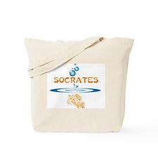 Socrates (fish) Tote Bag