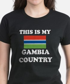 This Is My Gambia Country Tee