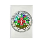 Medical Marijuana Rectangle Magnet (10 pack)