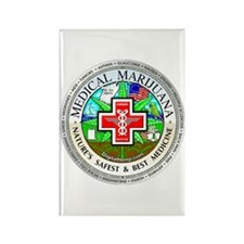 Medical Marijuana Rectangle Magnet
