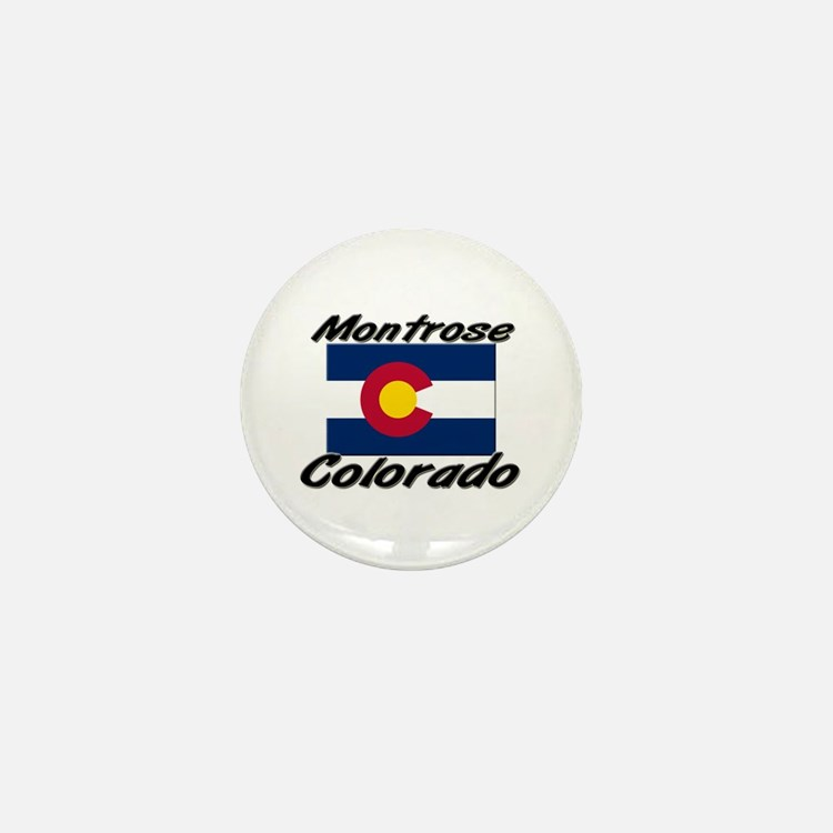 Montrose Colorado Mini Button