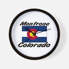 Montrose Colorado Wall Clock