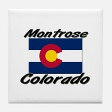 Montrose Colorado Tile Coaster