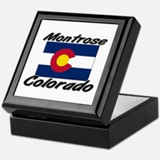Montrose Colorado Keepsake Box