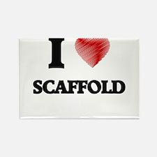 I Love Scaffold Magnets