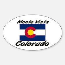 Monte Vista Colorado Oval Decal