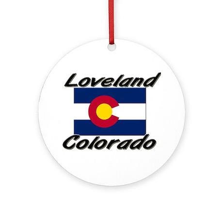 Loveland Colorado Ornament (Round)