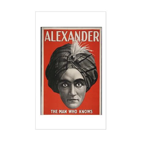 Alexander Rectangle Sticker