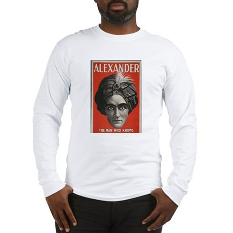 Alexander Long Sleeve T-Shirt