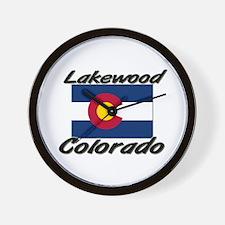 Lakewood Colorado Wall Clock