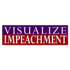 Visualize Impeachment (bumper sticker)
