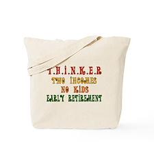 Child-Free Thinker Tote Bag