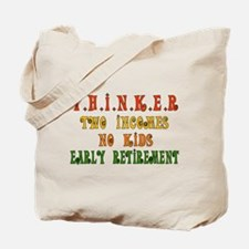 Child-Free Thinker Tote Bag