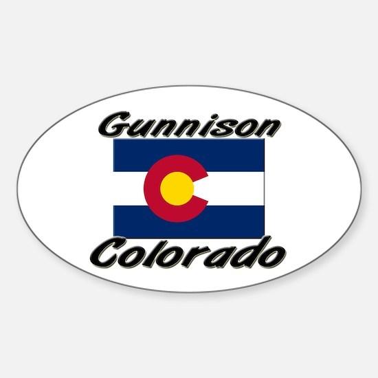 Gunnison Colorado Oval Decal