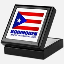 Cute Borinquen Keepsake Box