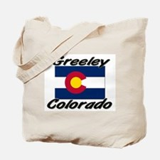 Greeley Colorado Tote Bag