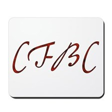 CFBC Red Logo Mousepad