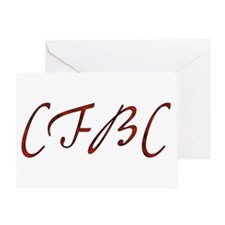 CFBC Red Logo Greeting Card