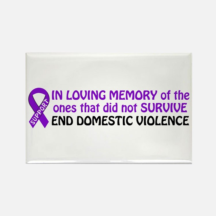 In memory Rectangle Magnet (10 pack)