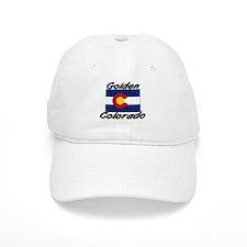 Golden Colorado Baseball Cap