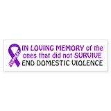 Domestic violence awareness Single
