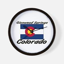 Glenwood Springs Colorado Wall Clock
