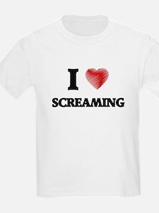 I Love Screaming T-Shirt