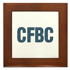 CFBC Blue Logo Framed Tile